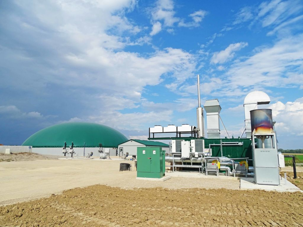 Heat and power production for digester installed by DLS Biogas