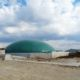 Digester installed by DLS Biogas with a solids feeder pictured