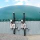 Digester installed by DLS Biogas with over/under pressure units pictured