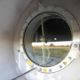Digester installed by DLS Biogas with an observation window pictured